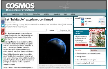 http://www.cosmosmagazine.com/news/first-habitable-exoplanet-confirmed/