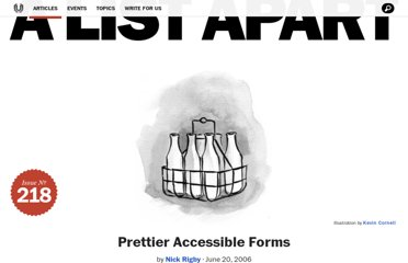 http://alistapart.com/article/prettyaccessibleforms