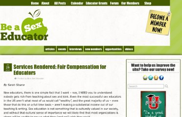 http://beasexeducator.com/2013/01/26/services-rendered-fair-compensation-for-educators/