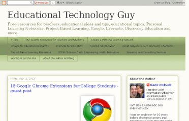 http://educationaltechnologyguy.blogspot.com/2012/05/18-google-chrome-extensions-for-college.html#.T61psjV2P9Q.twitter