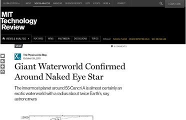 http://www.technologyreview.com/view/425929/giant-waterworld-confirmed-around-naked-eye-star/