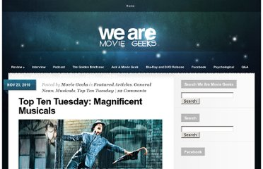 http://www.wearemoviegeeks.com/2010/11/top-ten-tuesday-magnificent-musicals/
