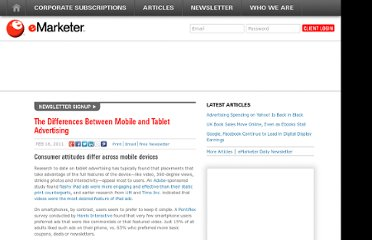 http://www.emarketer.com/Article/Differences-Between-Mobile-Tablet-Advertising/1008236