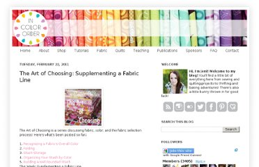 http://www.incolororder.com/2011/02/art-of-choosing-supplementing-fabric.html