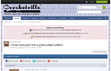 http://www.crochetville.com/community/topic/47417-i-know-everyone-has-a-potscrubber-pattern/