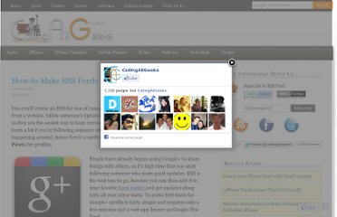 http://www.callingallgeeks.org/how-to-make-rss-feeds-google-profile/