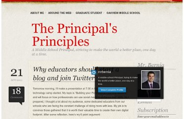 http://mrbernia.com/2011/08/21/why-educators-should-start-a-blog-and-join-twitter/