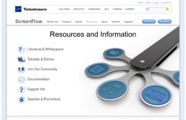 http://www.telestream.net/screenflow/resources.htm#tutorials