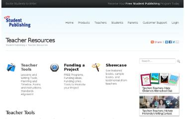 http://www.studentpublishing.com/wp-st/Teachers_TeacherResources.php#