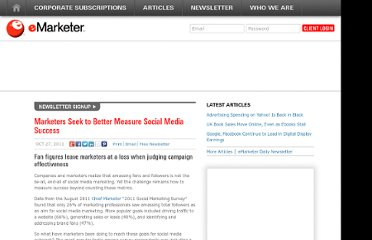 http://www.emarketer.com/Article/Marketers-Seek-Better-Measure-Social-Media-Success/1008662