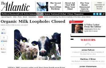 http://www.theatlantic.com/health/archive/2010/02/organic-milk-loophole-closed/35982/