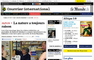 http://www.courrierinternational.com/article/2011/05/12/la-nature-a-toujours-raison