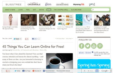 http://www.blisstree.com/2008/01/01/sex-relationships/45-things-you-can-learn-online-for-free/