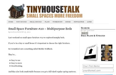 http://tinyhousetalk.com/small-space-furniture-20-multipurpose-beds/