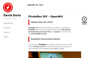 http://daviddarts.com/piratebox-diy-openwrt/