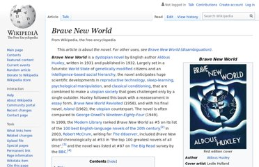 http://en.wikipedia.org/wiki/Brave_New_World