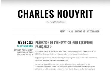 http://charles.nouyrit.com/2013/02/08/predation-de-linnovation-une-exception-francaise/