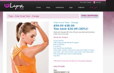 http://lyraactivewear.com/shop/criss-cross-tank-orange