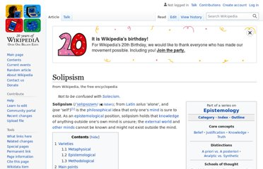 https://en.wikipedia.org/wiki/Solipsism