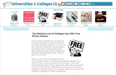 http://www.universitiesandcolleges.org/blog/free-online-college-courses/