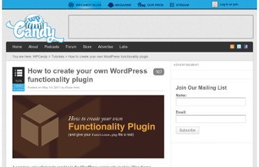 http://wpcandy.com/teaches/how-to-create-a-functionality-plugin/