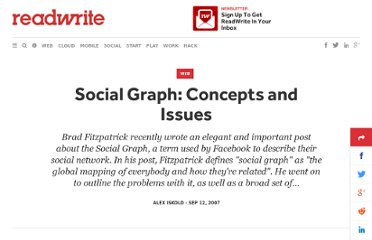 http://readwrite.com/2007/09/11/social_graph_concepts_and_issues