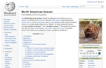 http://en.wikipedia.org/wiki/North_American_beaver#Effects_on_stream_flows_and_water_quality