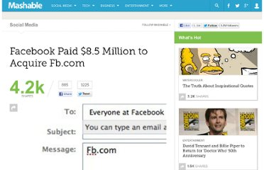 http://mashable.com/2011/01/11/facebook-paid-8-5-million-to-acquire-fb-com/