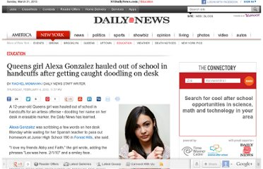 http://www.nydailynews.com/new-york/education/queens-girl-alexa-gonzalez-hauled-school-handcuffs-caught-doodling-desk-article-1.194141
