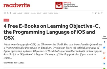 http://readwrite.com/2011/05/14/4-free-e-books-on-objective-c