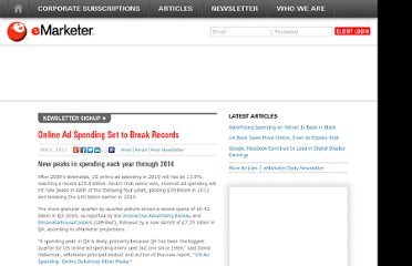 http://www.emarketer.com/Article/Online-Ad-Spending-Set-Break-Records/1008144