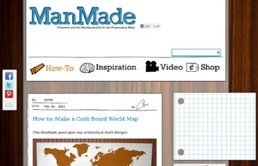 http://manmadediy.com/users/chris/posts/768-how-to-make-a-cork-board-world-map