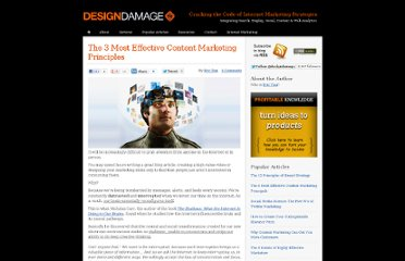 http://designdamage.com/blog/index.php/201007/the-3-most-effective-content-marketing-principals/