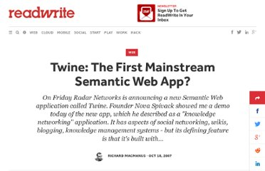 http://readwrite.com/2007/10/18/twine_first_mainstream_semantic_web_app