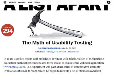 http://alistapart.com/article/the-myth-of-usability-testing