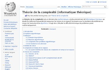 http://fr.wikipedia.org/wiki/Th%C3%A9orie_de_la_complexit%C3%A9_(informatique_th%C3%A9orique)