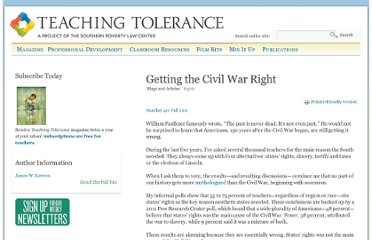http://www.tolerance.org/magazine/number-40-fall-2011/feature/getting-civil-war-right