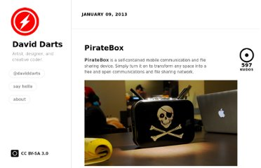 http://daviddarts.com/piratebox/
