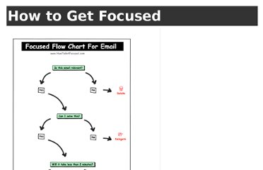 http://www.howtogetfocused.com/chapters/email-and-focus