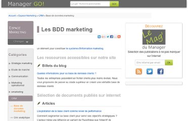 http://www.manager-go.com/marketing/base-de-donnees-marketing.htm
