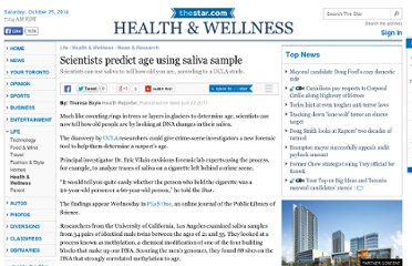 http://www.thestar.com/life/health_wellness/news_research/2011/06/22/scientists_predict_age_using_saliva_sample.html