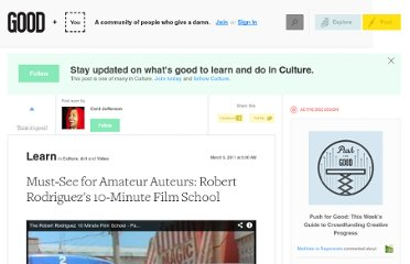 http://www.good.is/posts/must-see-for-amateur-auteurs-robert-rodriguez-s-10-minute-film-school