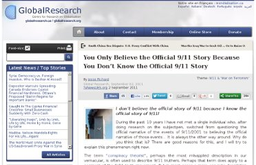 http://www.globalresearch.ca/you-only-believe-the-official-9-11-story-because-you-don-t-know-the-official-9-11-story/26340