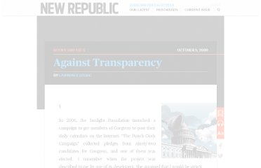 http://www.newrepublic.com/article/books-and-arts/against-transparency