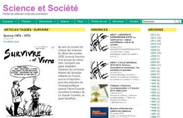 http://science-societe.fr/tag/survivre/