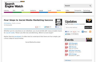 http://searchenginewatch.com/article/2065498/Four-Steps-to-Social-Media-Marketing-Success