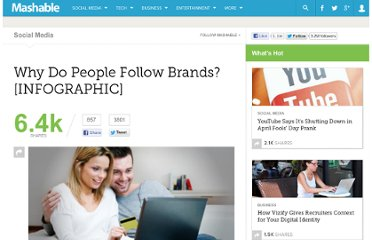 http://mashable.com/2011/06/29/why-people-follow-brands/