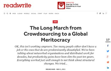 http://readwrite.com/2011/11/01/the_long_march_from_crowdsourcing_to_a_global_meri
