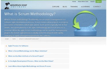 http://www.mountaingoatsoftware.com/topics/scrum