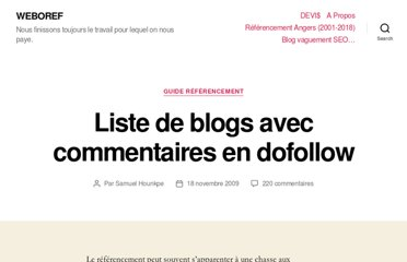 http://weboref.fr/liste-de-blogs-avec-commentaires-en-dofollow